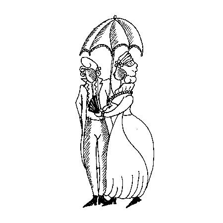 Barockpärchen