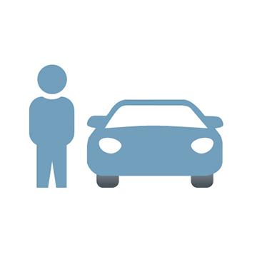 Fahrzeugabholung