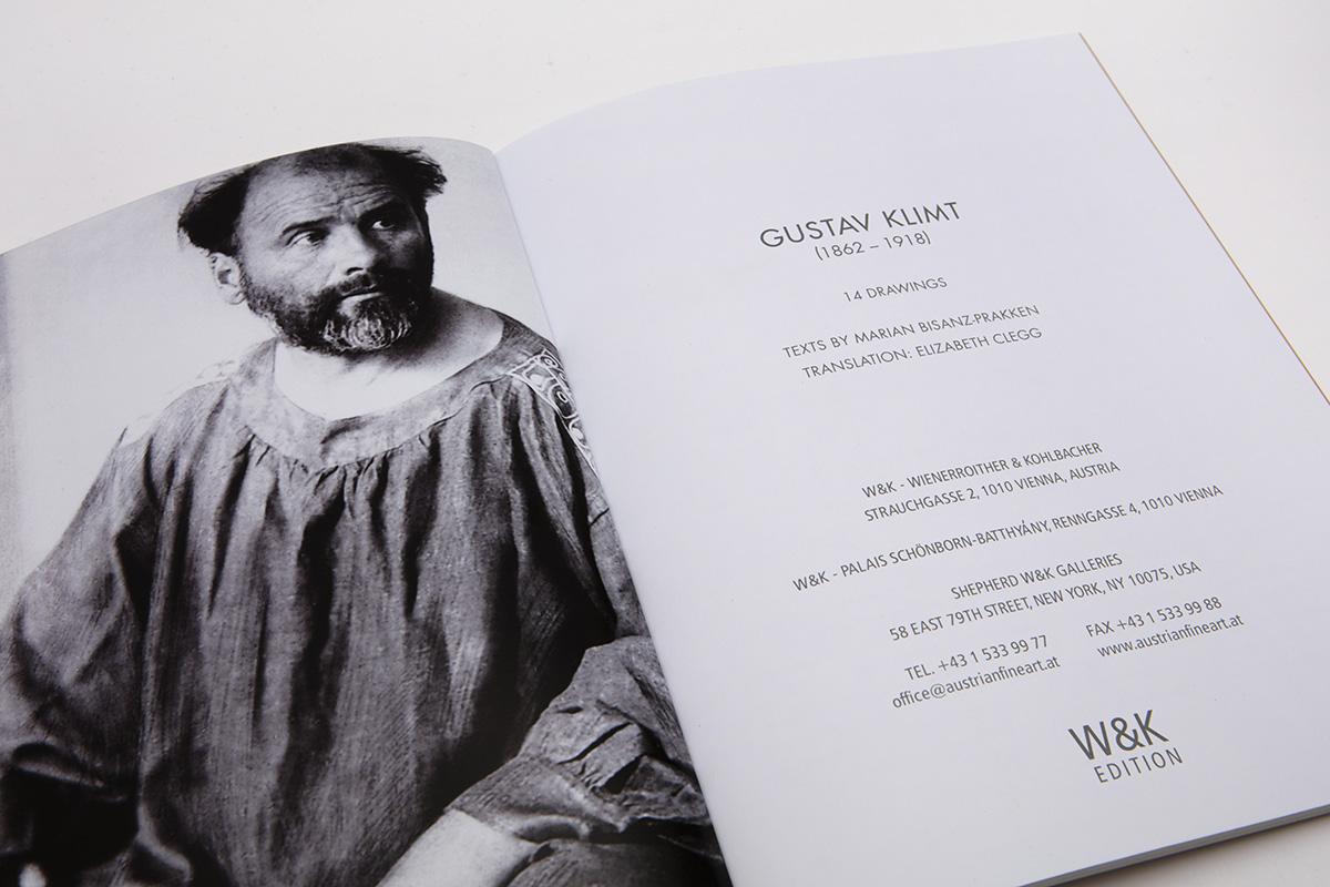 Klimt Broschüre