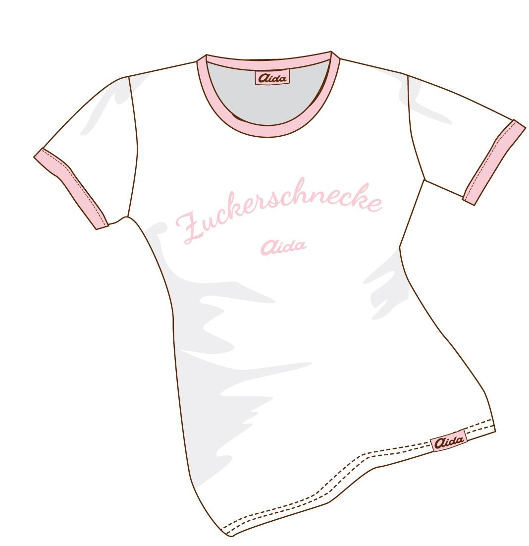 T-Shirt Zuckerschnecke