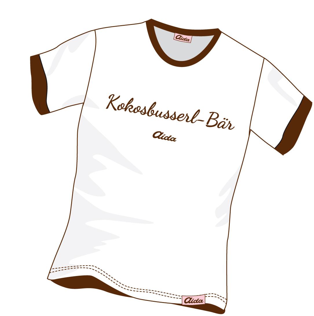 T-Shirt Kokosbusserl-Bär