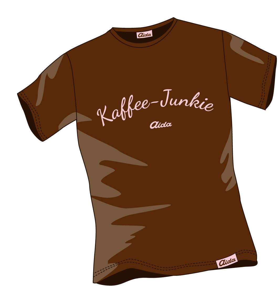 T-Shirt Kaffee-Junkie