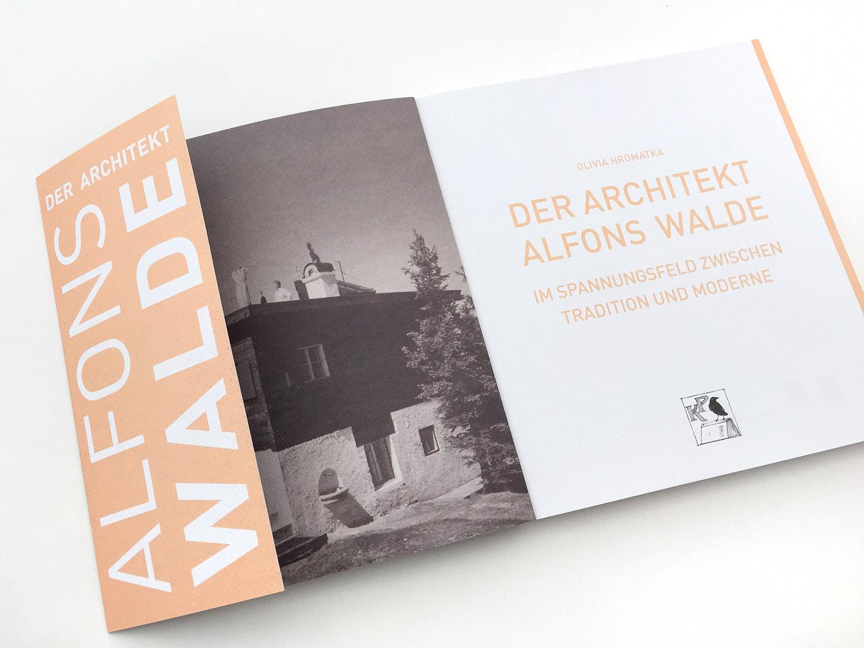 Der Architekt Alfons Walde