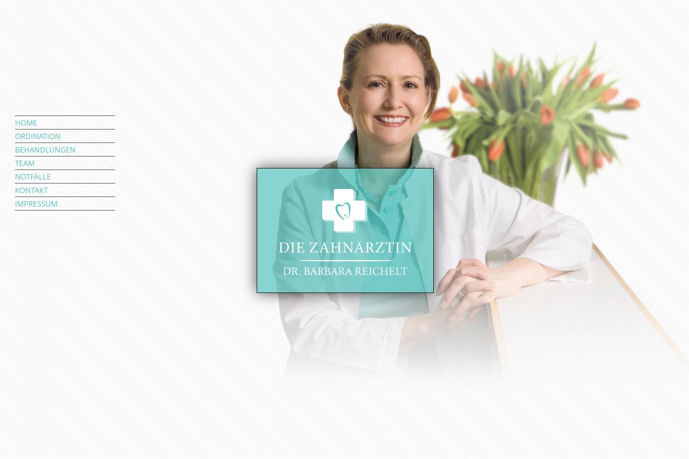 Die Zahnärztin – Dr. Barbara Reichelt